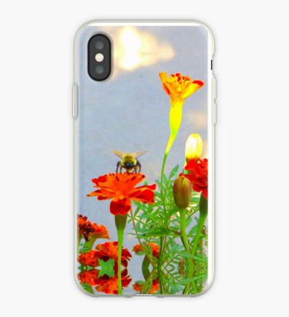Busy Bumblebee iPhone Case