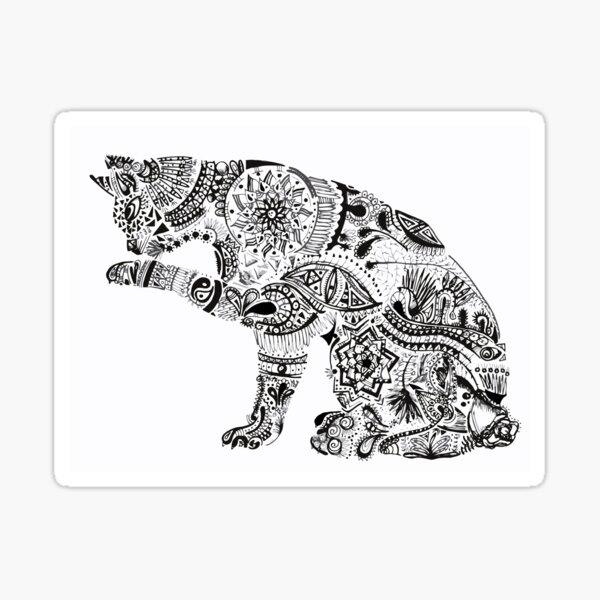 Gato Maori Sticker