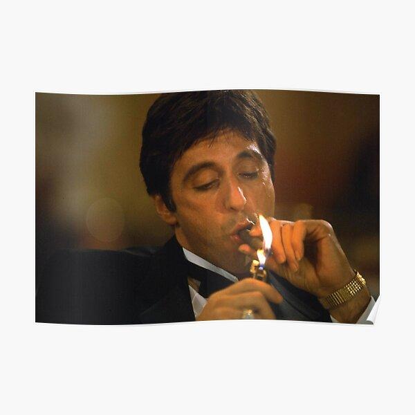 Tony Montana - Cigar Poster