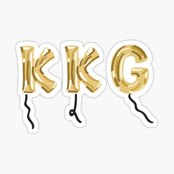 Kappa Kappa Gamma Balloons Sticker
