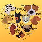 Dog Lover, Frenchies, Pugs, Poodles by Angie Stimson