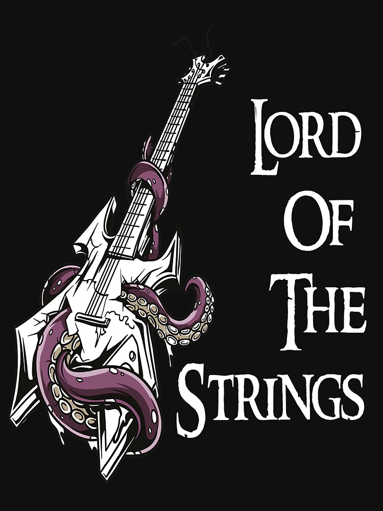 Lord of the strings guitar by designhp