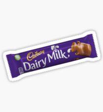 Cadbury's Dairy Milk Sticker