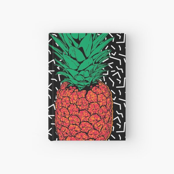 RETRO PINEAPPLE  Hardcover Journal