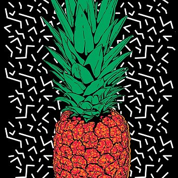 RETRO PINEAPPLE  by Afrodeco