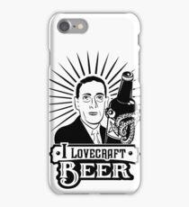 I Lovecraft Beer iPhone Case/Skin
