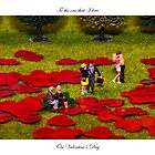 Love Is All Around Valentine Card by Steve Purnell