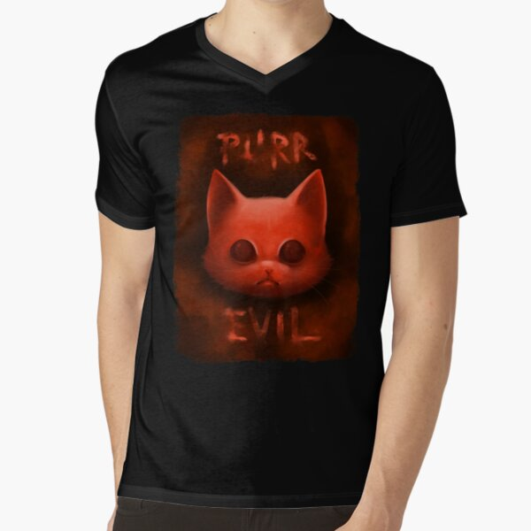 PurrEvil T-shirt col V
