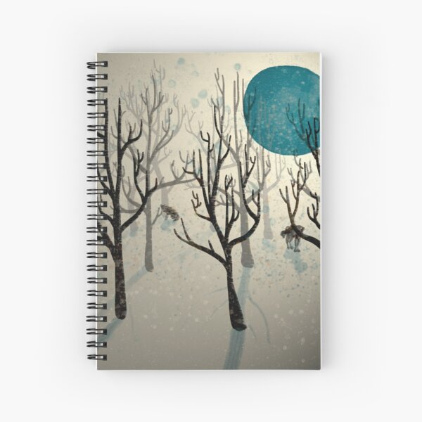 Among the Wolves... Spiral Notebook