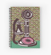 CANDLESTICK TELEPHONE Spiral Notebook