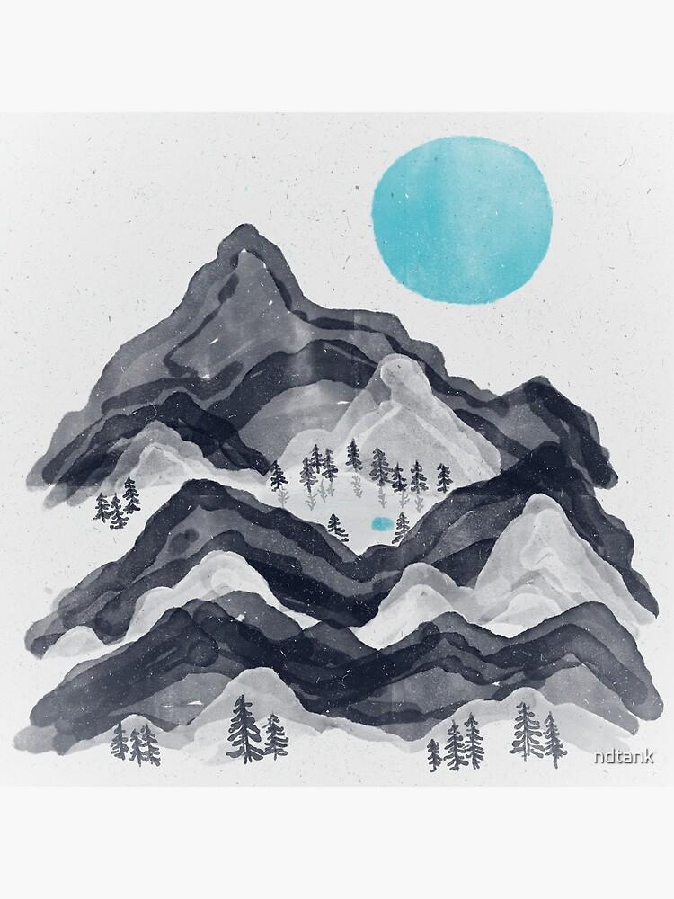 The Sun in Moon Lake... by ndtank