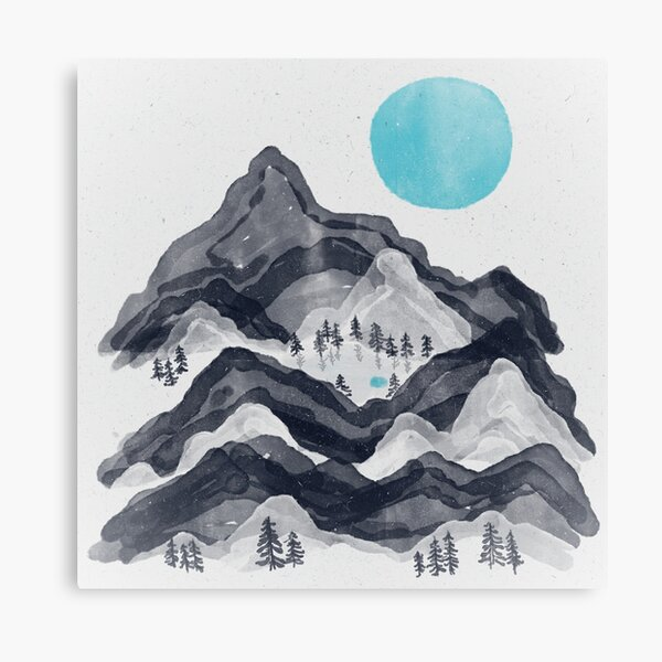 The Sun in Moon Lake... Canvas Print