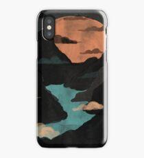 Moonlit Gorge... iPhone Case