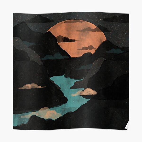 Moonlit Gorge... Poster