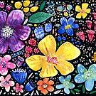 Flower Galore by greenrainart