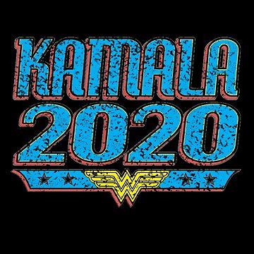 Retro - Kamala Harris Shirt - Super Hero Madam President by queendeebs