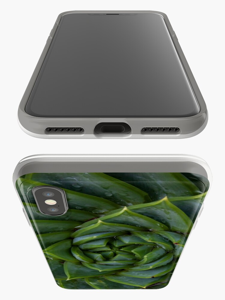Alternate view of Spiral Succulent iPhone Cases & Covers