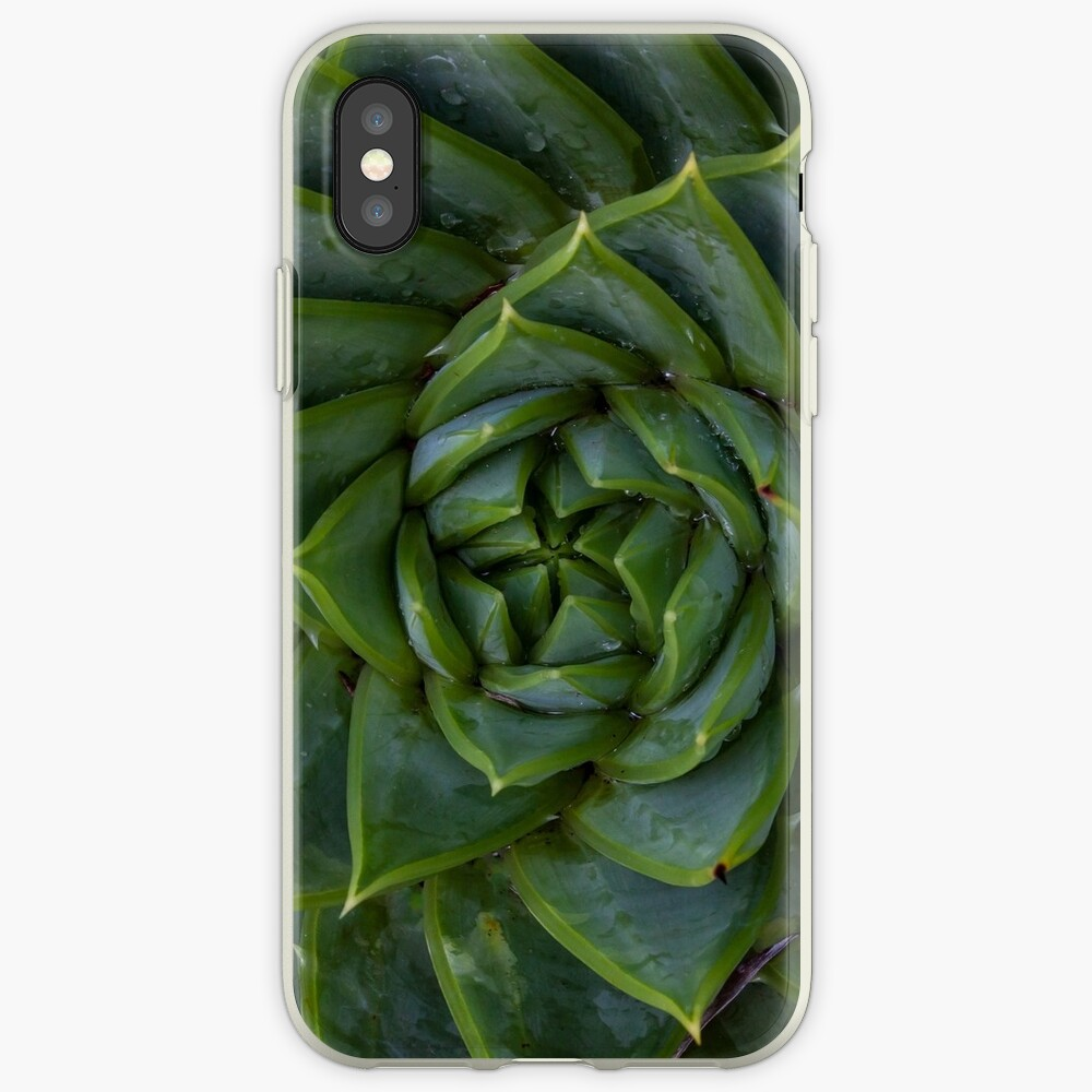 Spiral Succulent iPhone Cases & Covers