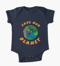 save planet earth One Piece - Short Sleeve