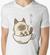 Enjoy T-shirt col V