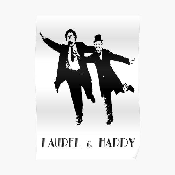 Laurel & Hardy Poster