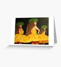 Golden Mele Greeting Card