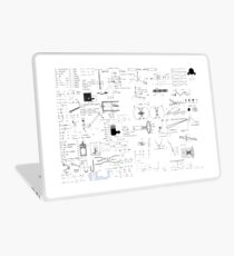 Physics Equations - Physics Formulas Laptop Skin