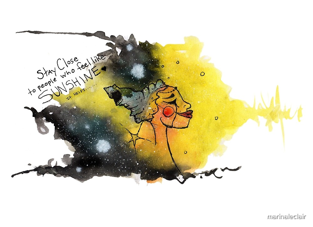 Seek Sunshine by marinaleclair