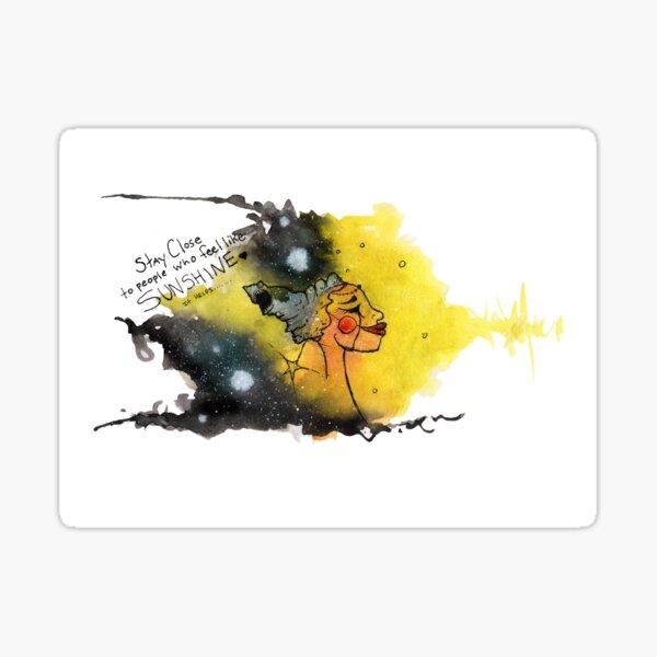 Seek Sunshine Sticker