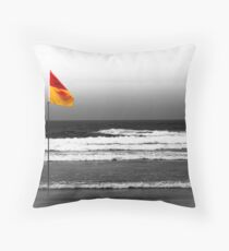 Flagging... Throw Pillow