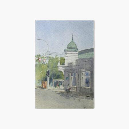 The street corner, Russia Art Board Print