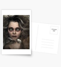 Damned Doll Postcards
