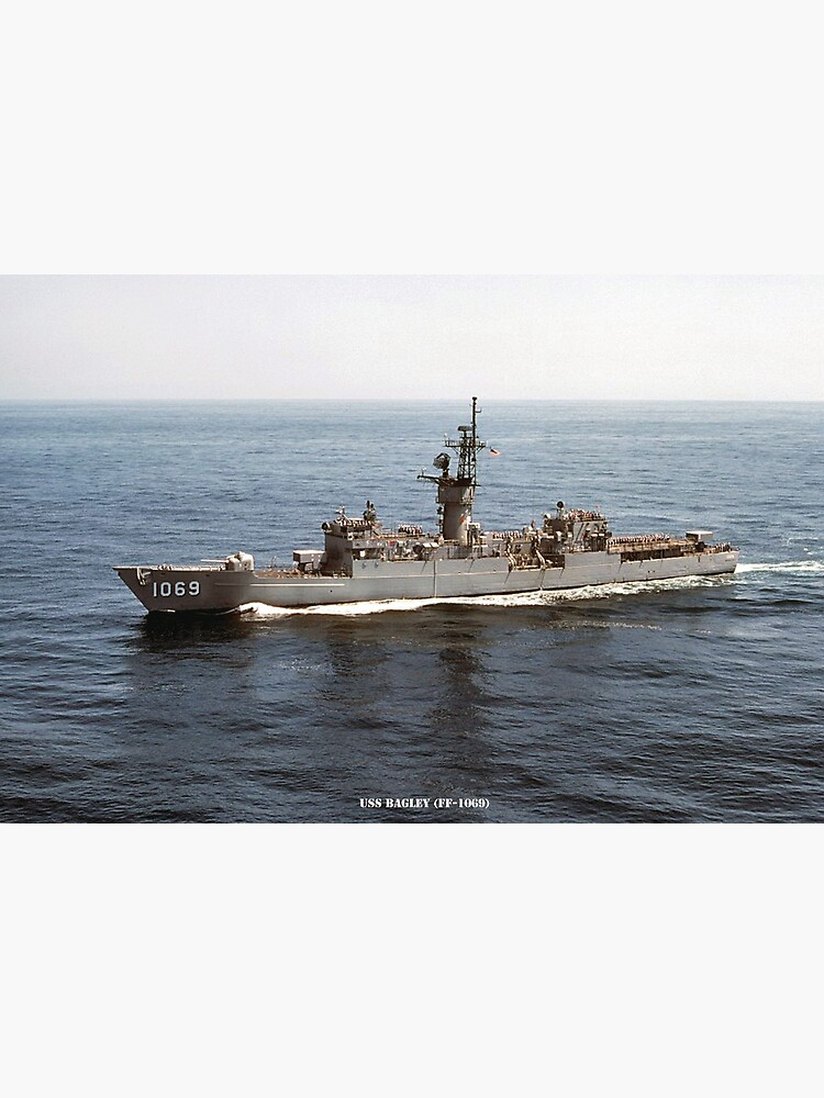 USS BAGLEY (FF-1069) PHOTO by militarygifts