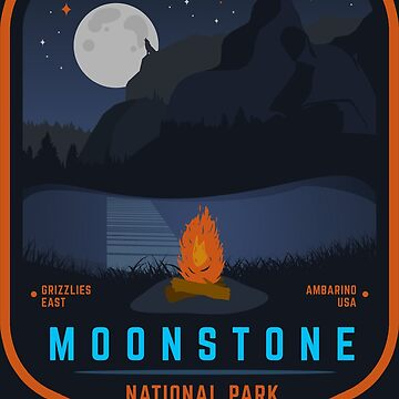 Red Dead Redemption 2 - Moonstone National Park  by BenFraternale