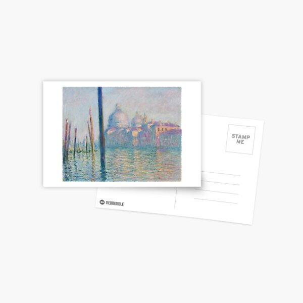 Claude Monet, The Grand Canal, 1908 Postcard