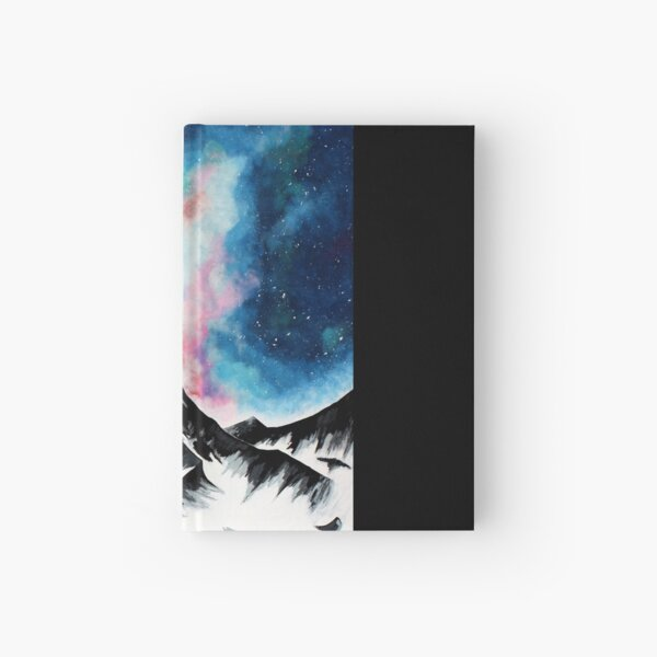 Galaxy Mountain Hardcover Journal