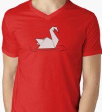 Paper Swan - Oru Kayak Men's V-Neck T-Shirt