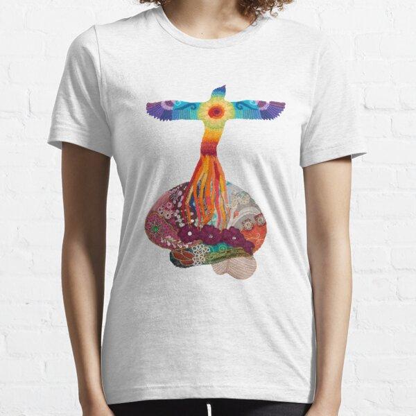 Rising Phoenix Brain - for neuro motivation Essential T-Shirt