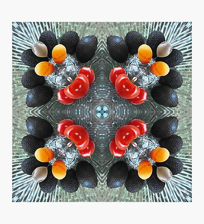 Fruit on Ice Photographic Print