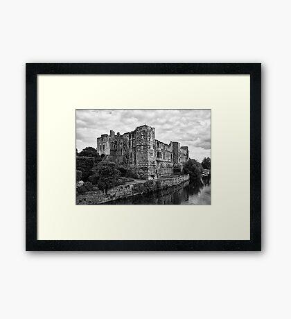 Newark Castle. Framed Print