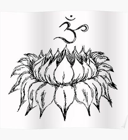 Om Lotus Poster