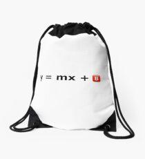 y = mx +  Drawstring Bag
