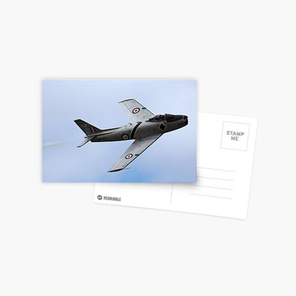 Restored RAAF CA-27 Sabre Postcard