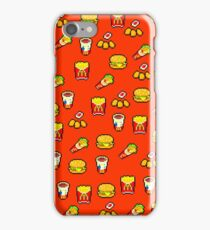 McDonald's Pixel Art Pattern iPhone Case/Skin