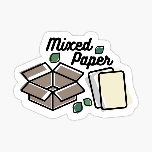 Paper Label Sticker