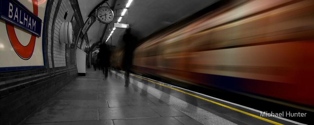 Balham station, London Underground by Michael Hunter