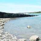 The Beach at Y Felinheli by LADeville