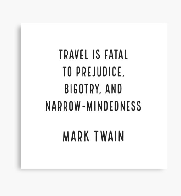 Mark Twain on Travel by BrightNomad