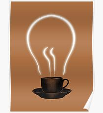 The power of coffee Poster