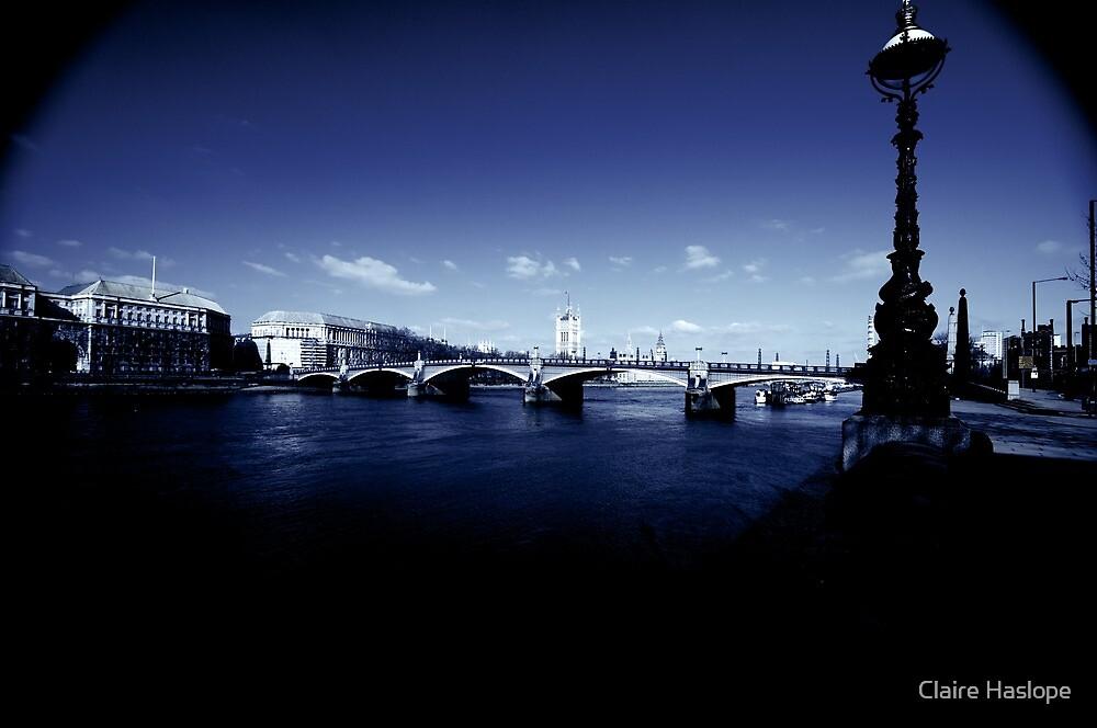 Lambeth Bridge, London by Claire Haslope